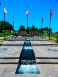 Veteran's memorial at the capitol