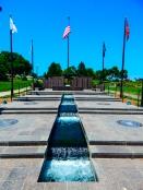 Veteran's memorial at the capitol