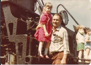 Train Museum Sacramento 1981