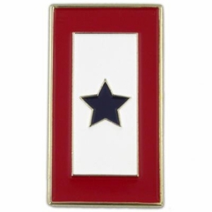 blue star mom pin